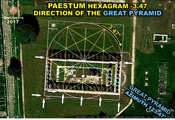 храмовый комплекс Пестум