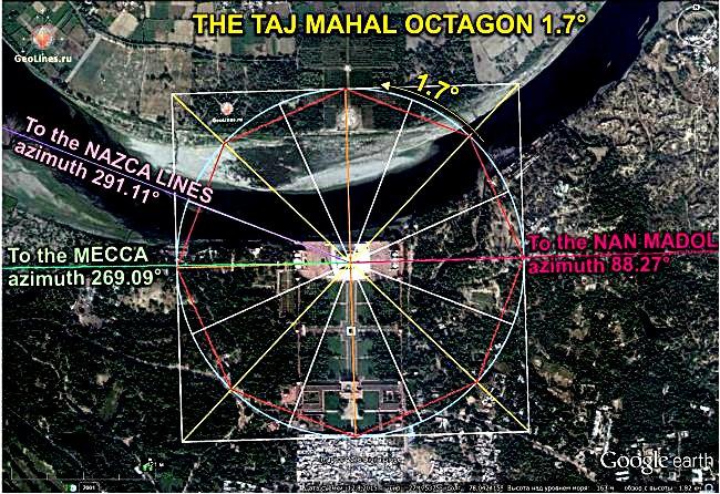 Тадж-Махал Мекка Наска Нан Мадол