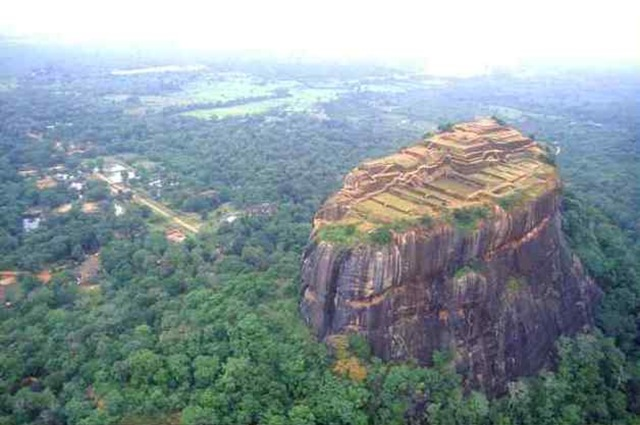 Sigiriya top view.