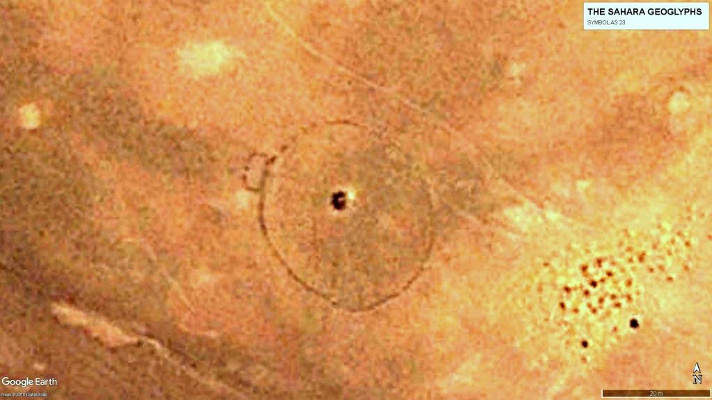 Ещё один геоглиф овальной формы – AS 23.