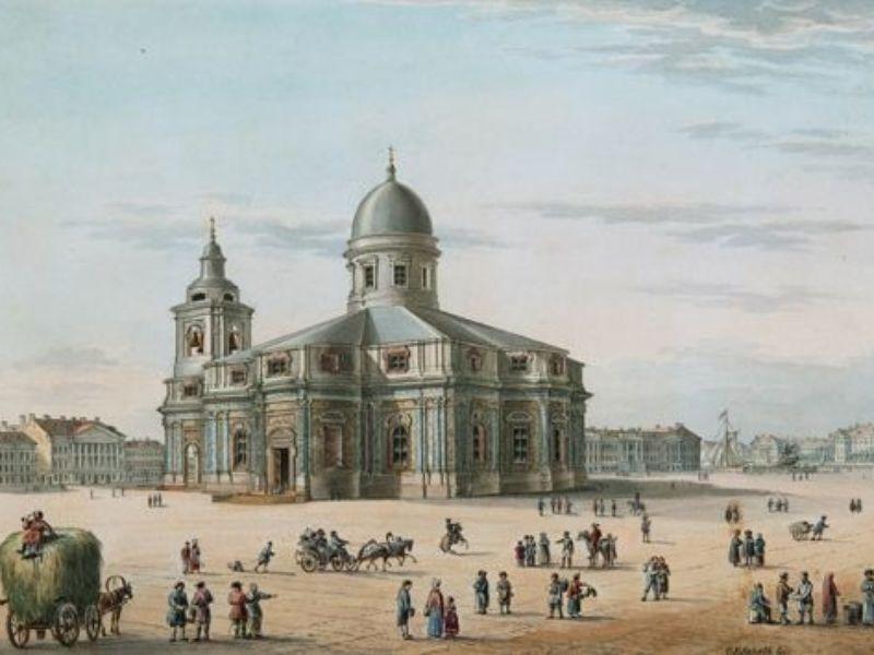 вторая Исакиевская церковь