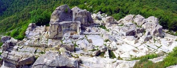 панорама Перперикона