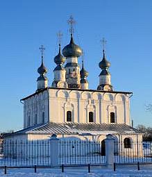 Церковь Петра и Павла в Суздале