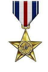"""Медаль """"Серебрянная звезда"""" США"""