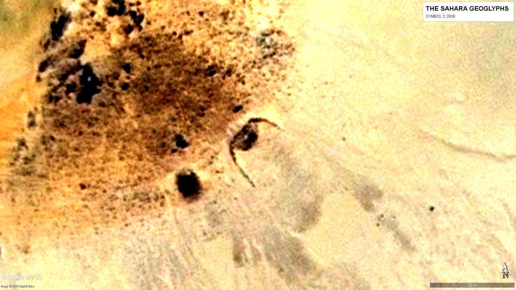 Геоглиф Сахары S 2839