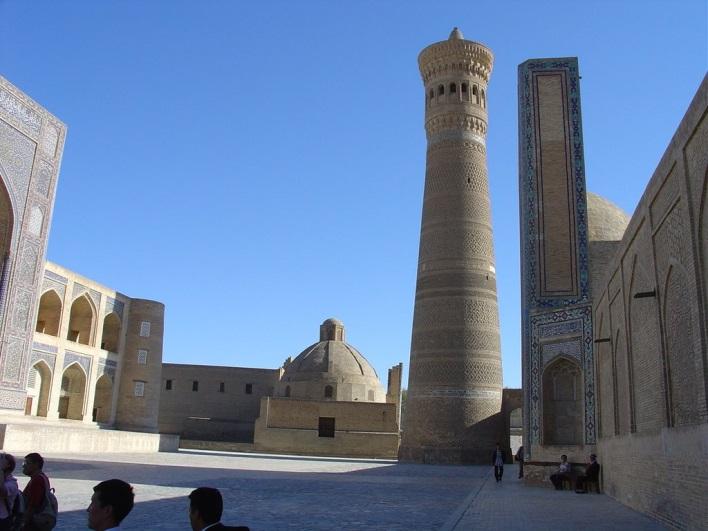 Бухара, Минарет мечети Калян