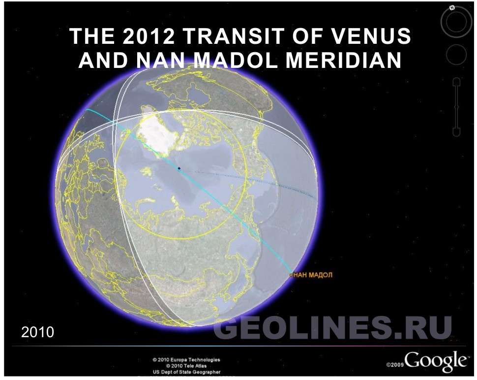 NAN MADOL and TRANSIT of the Venus In 2012