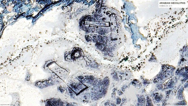геоглифы на Аравийском полуострове