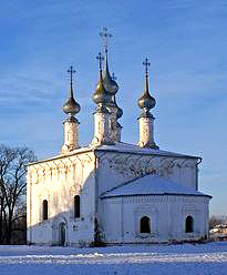 Входо-Иерусалимская церковь в Суздале