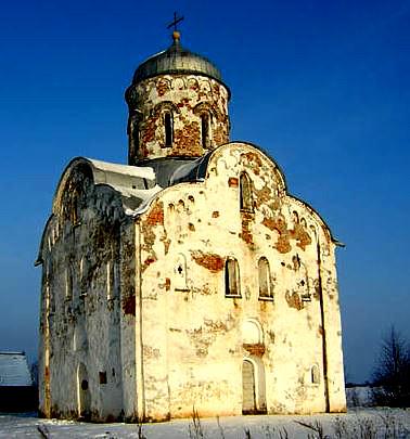 Церковь – Николы на Липне гексаграмма Новгород