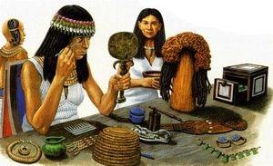 Женщины в Древнем Египте носили парики ворон
