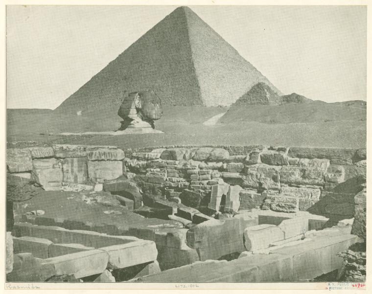 Сфинкс и Великая пирамида