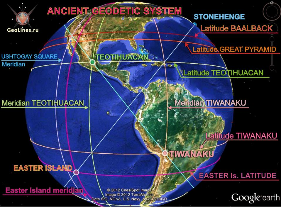 древняя геодезическая система