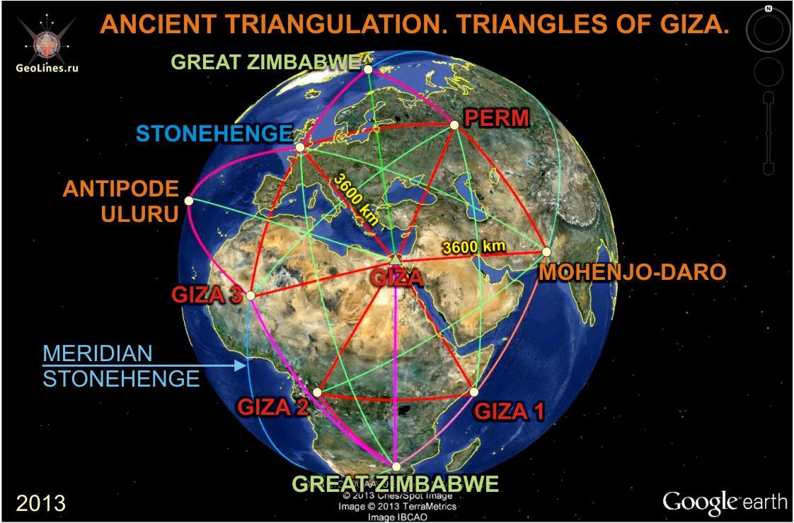 «Треугольники Гизы»,