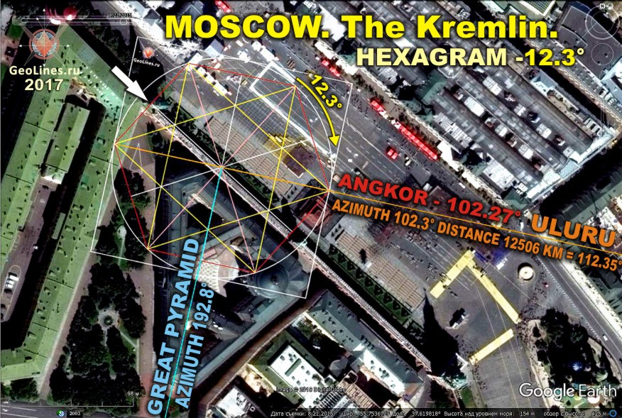 Кремль направление на Улуру