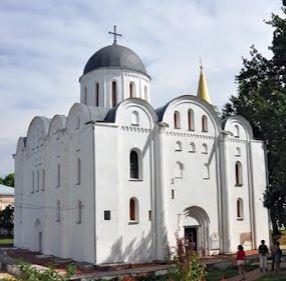 Борисоглебский собор в Чернигове гексаграмма