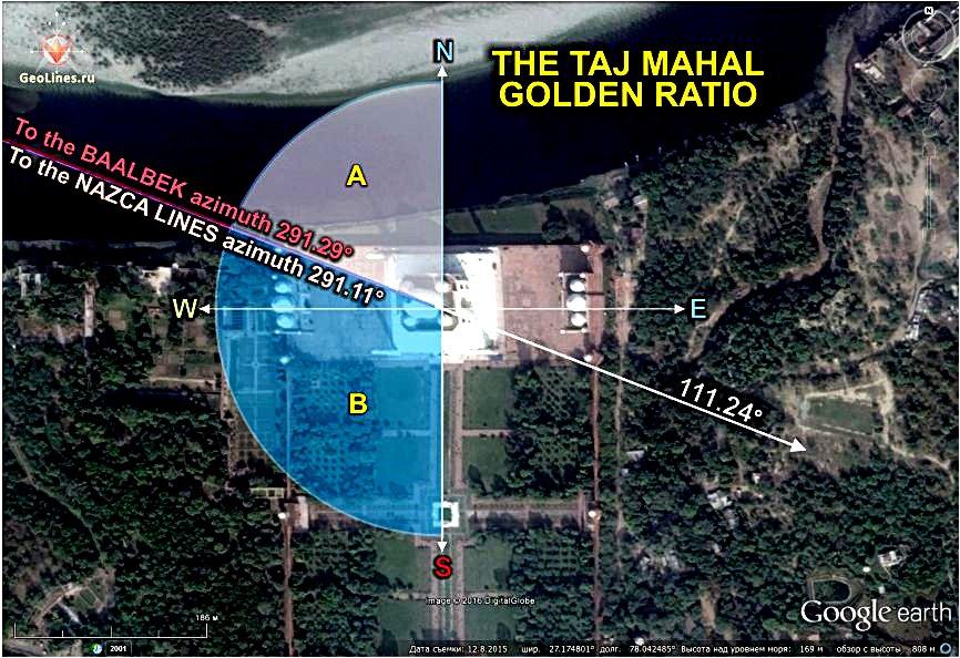Тадж-Махал и золотое сечение