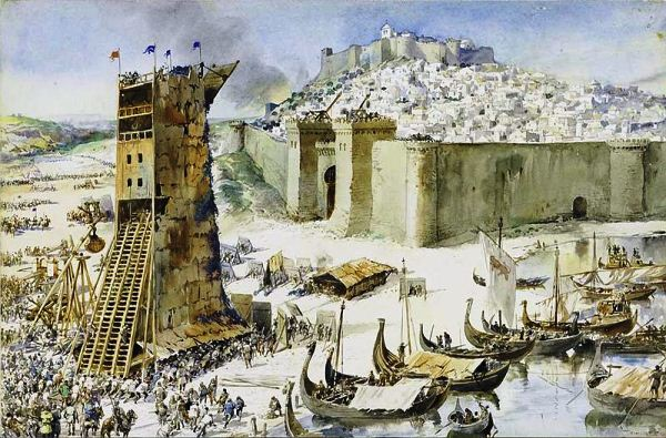 взятие крепости