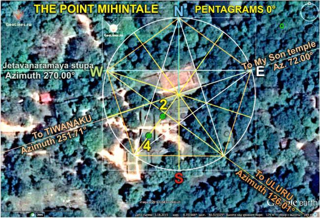Михинтале пентаграмма