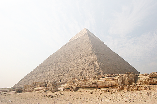 WHETHER THE PYRAMID OF CHEOPS COULD SERVER FOR  COMMUNICATION WITH SPACE
