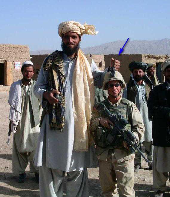 афганский великан