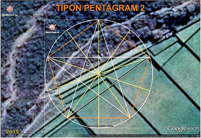 Типон ориентация пентаграмма