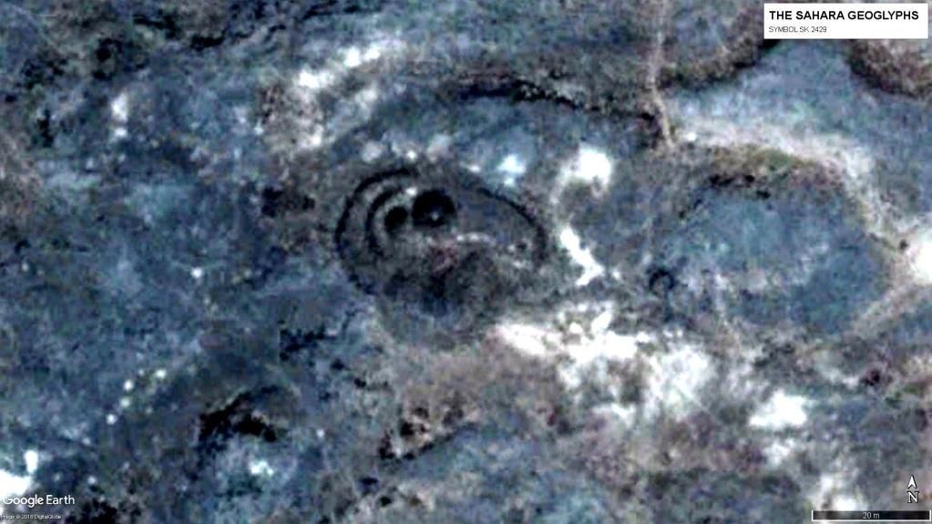 Символ SK 2429, на который наложен символ в виде круга