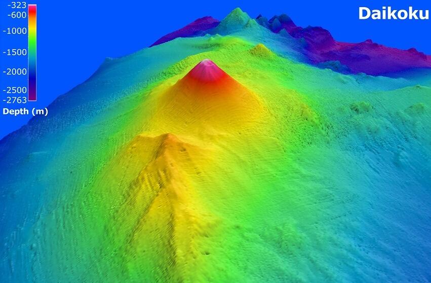 вулкан на дне марианской впадины