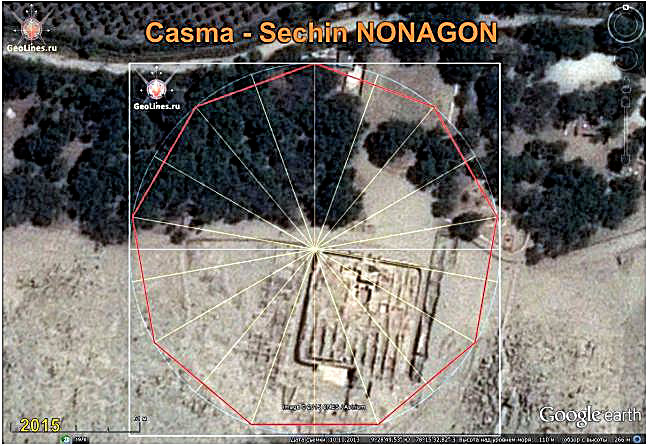 Casma orientation nonagon