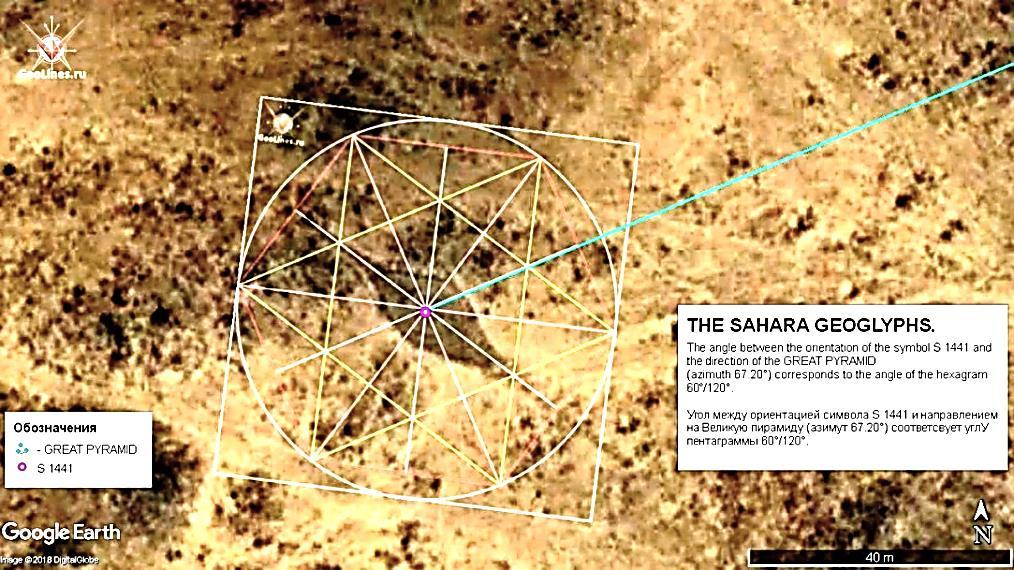 геоглиф Сахары 1441