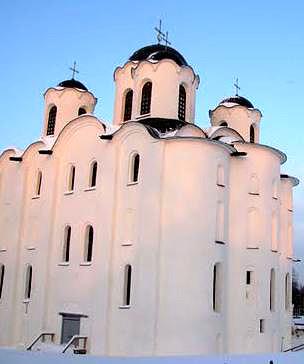 Храм Николы Новгород