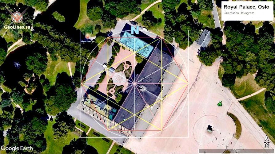 Осло дворец ориентация
