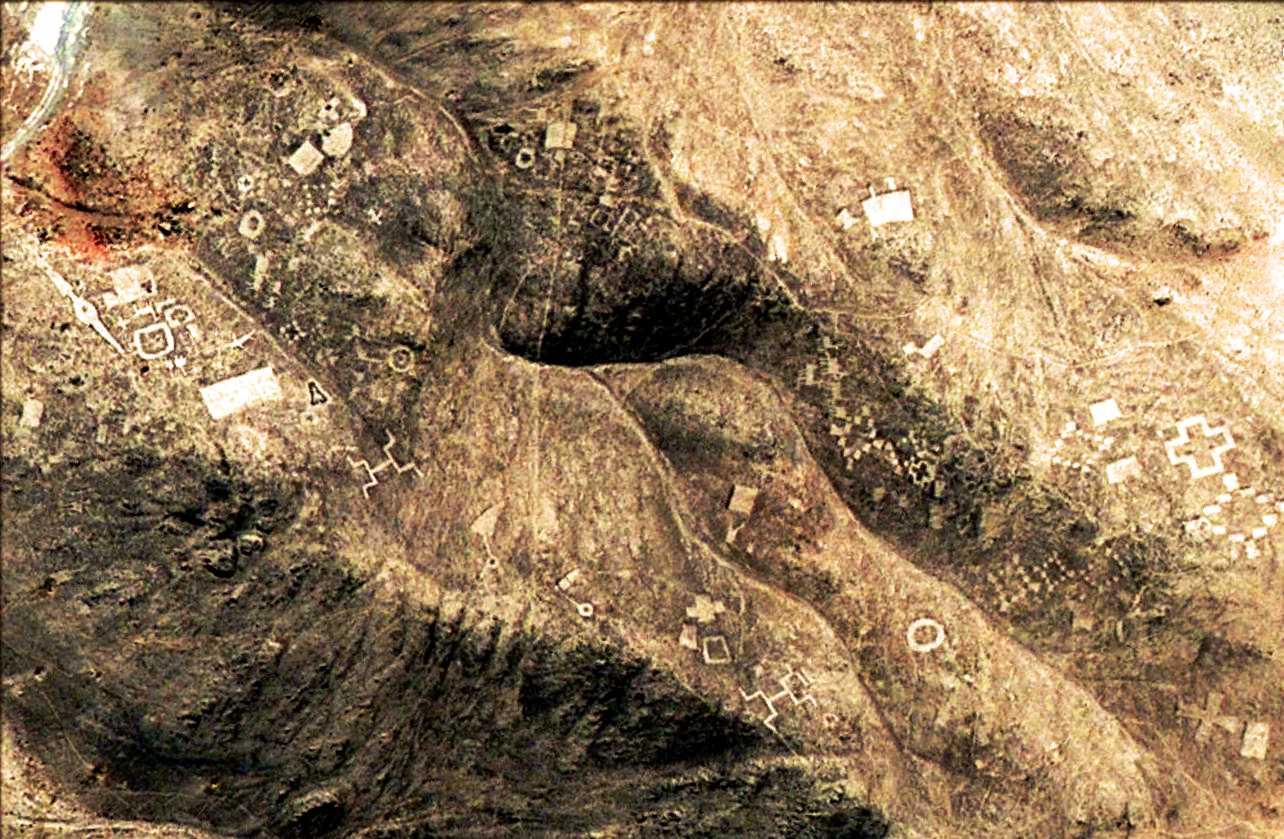 Геоглифы в чилийской пустыне