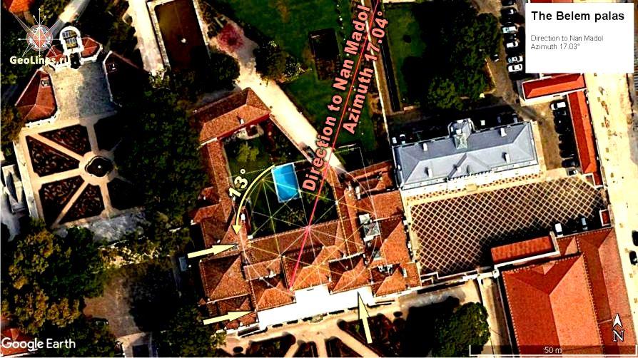 ориентация Беленского дворца