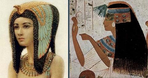 древние парики