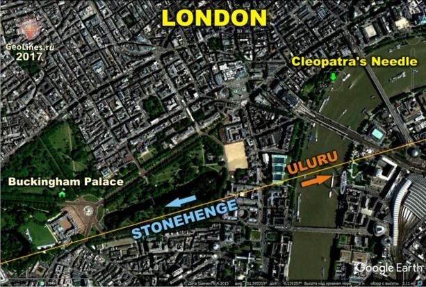 южный угол Букингемского дворца
