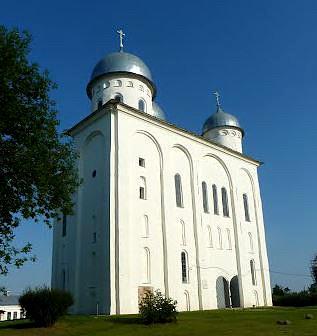 Юрьев монастырь Новгород Георгиевский собор