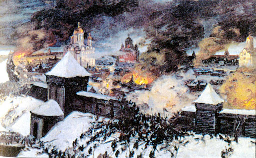 штурм русского города Рязань
