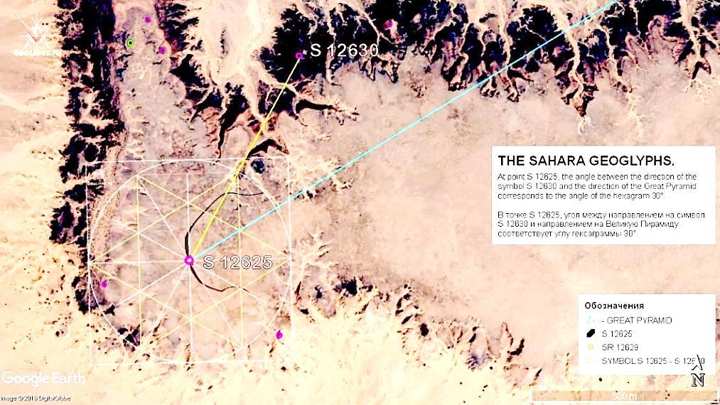 геоглиф Сахары 12630