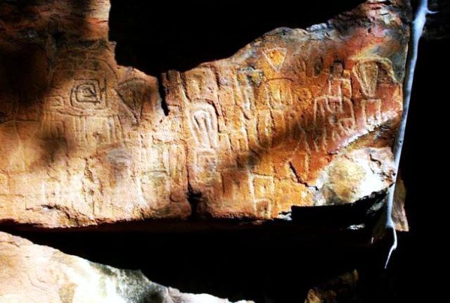 В Мексике найдены древние петроглифы