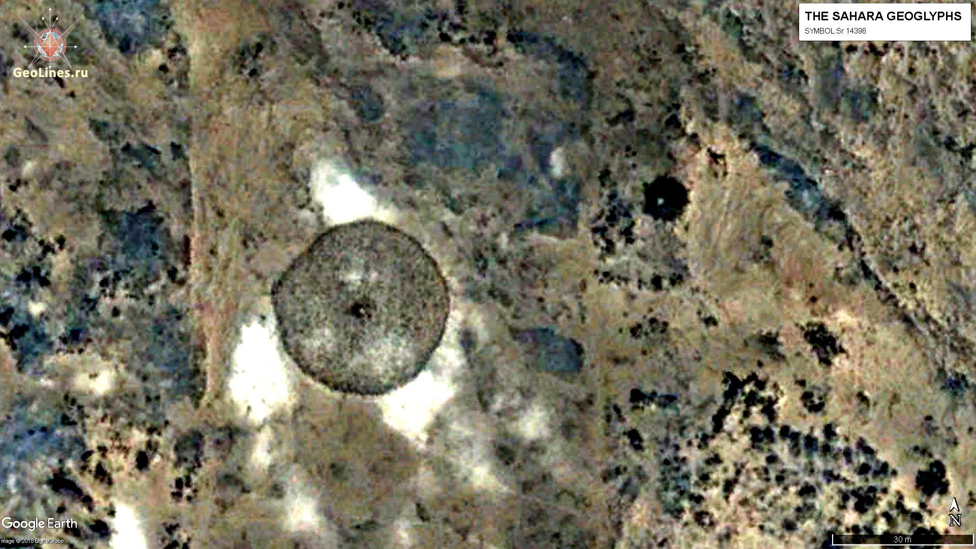 Геоглиф SR 14396
