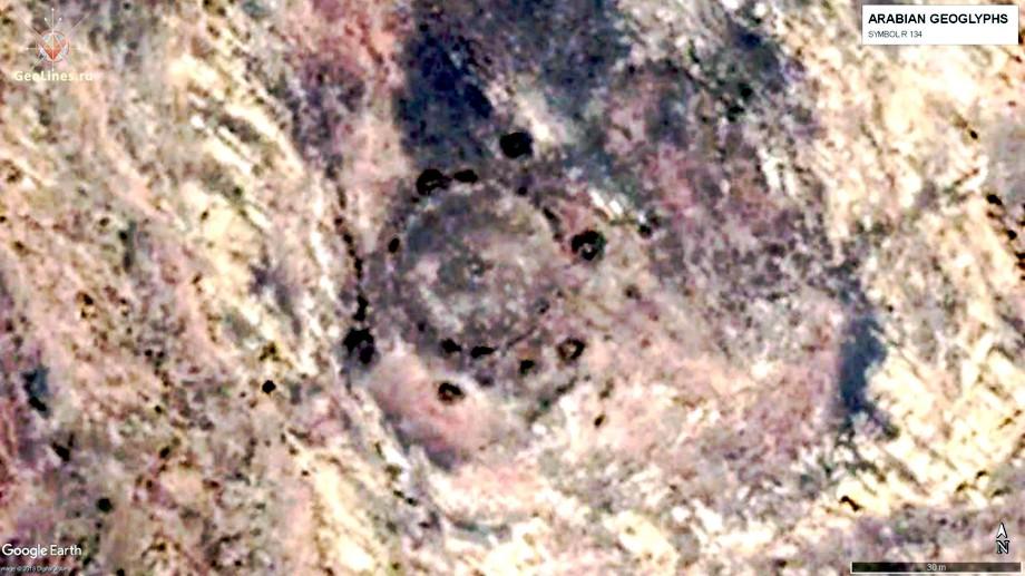 аравийские геоглифы круг