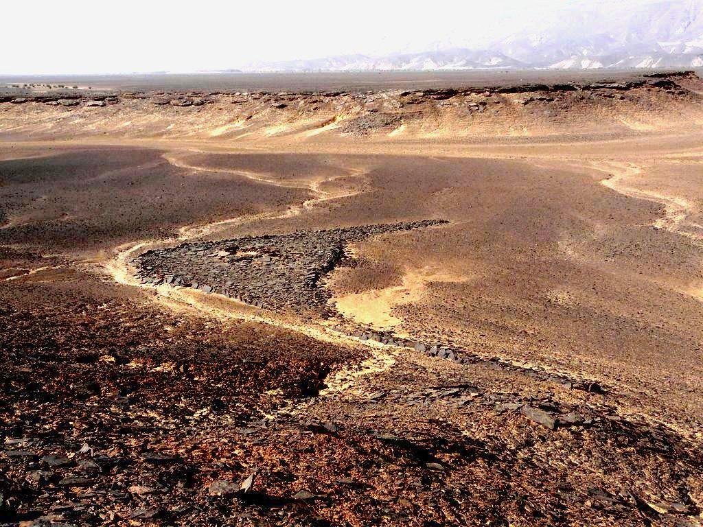 Геоглиф Сахары Фото decozar2