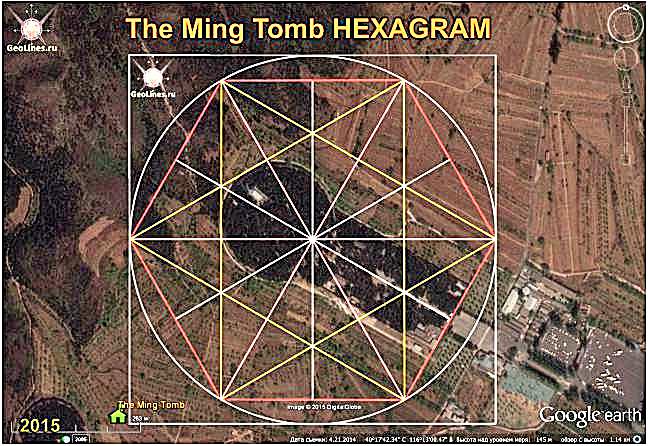 Ориентация гробницы минг