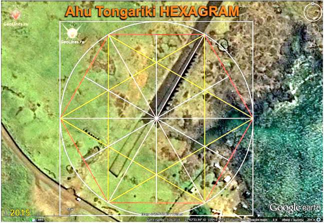 Остров пасхи ориентация Аху Тонгарики