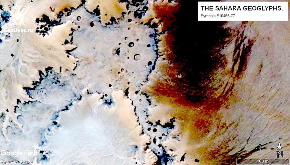 Геоглиф Сахары 10865