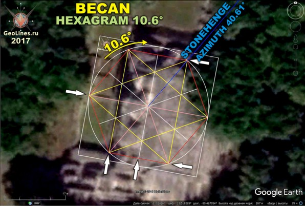комплекс пирамид Бекан