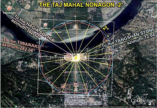 Тадж-Махал - Тиуанако - Собор Святой Софии