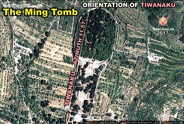 ориентации гробниц