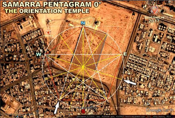 Самарра, находится мечеть Abu Dulaf